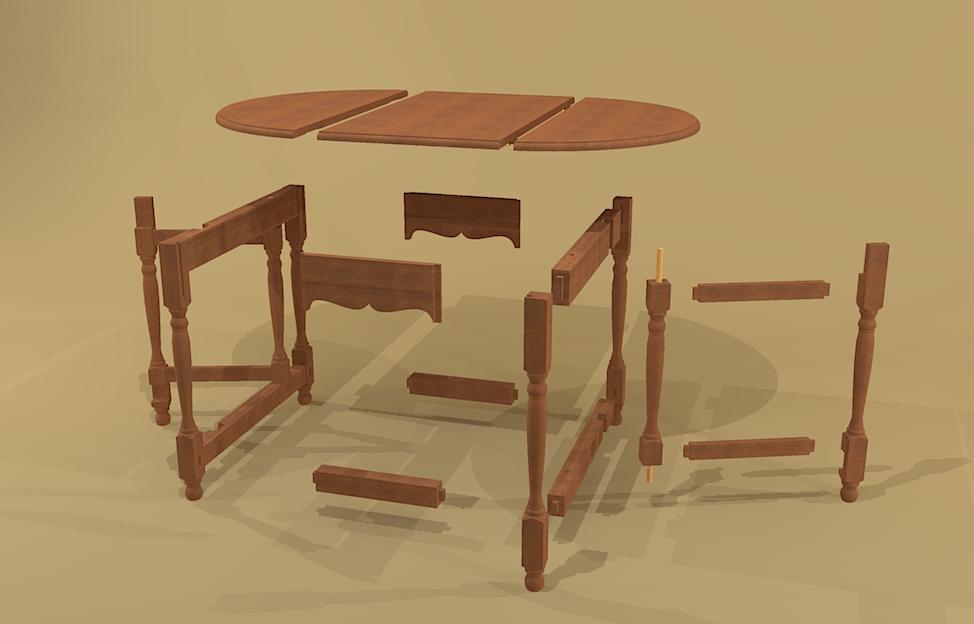 Dating gateleg tables