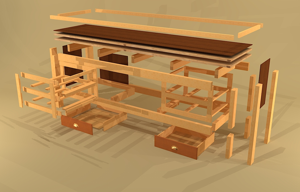Woodworking workbench drawer plans PDF Free Download