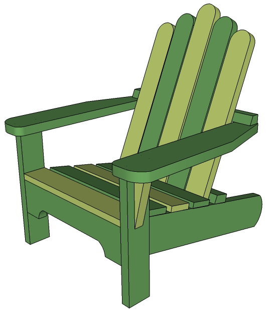 Woodworking Plans How To Draw Adirondack Chair PDF » freedownload