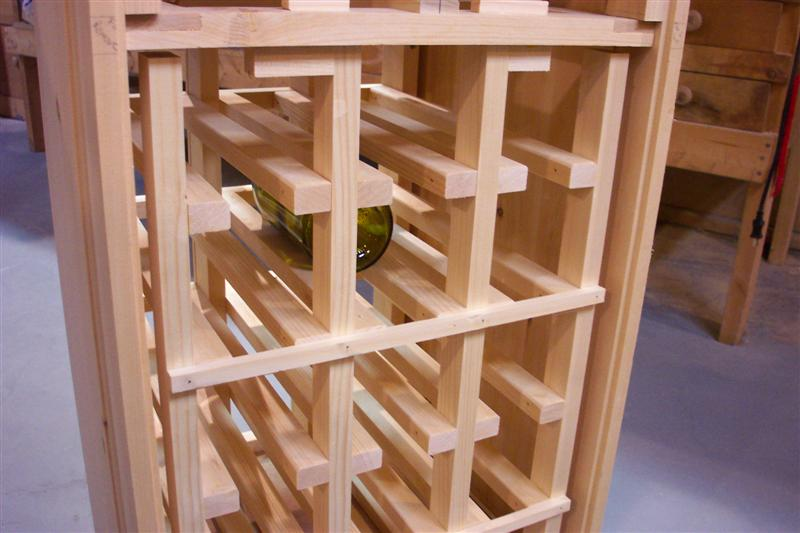 Wine Rack Construction PDF Woodworking