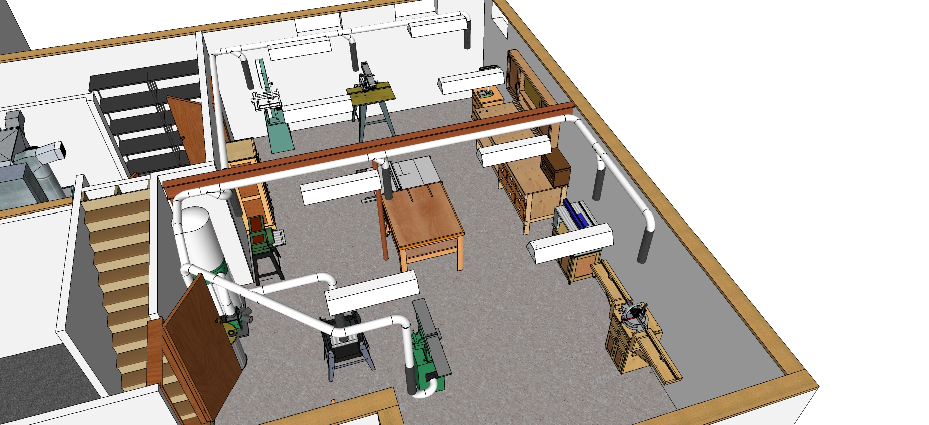 Lastest Woodworking Shop Layout Ideas  House Furniture